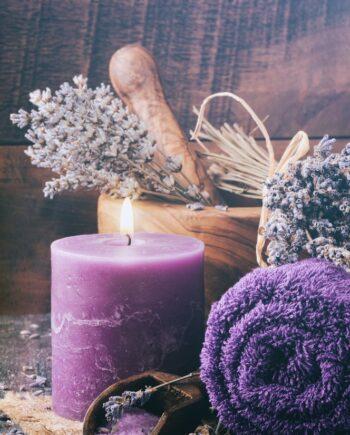 Bad lavendel
