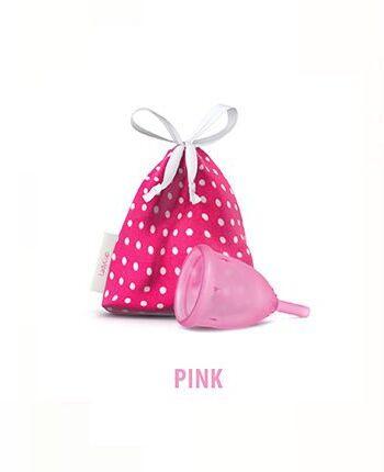 Menstruationstasse Ladycup pink